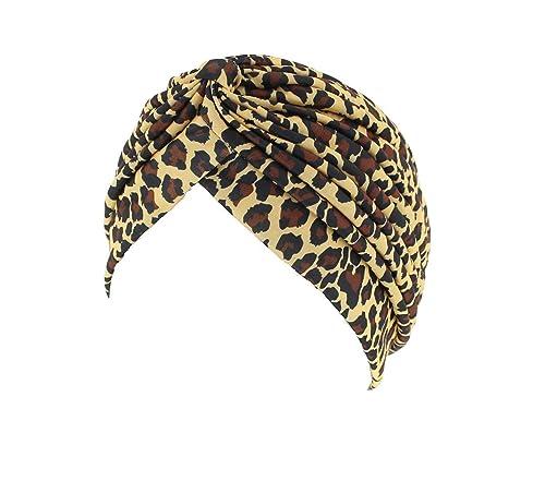 Zac's Alter Ego - Turbante, estilo vintage, estampado - Ideal para la pérdida de pelo o para ir a la...