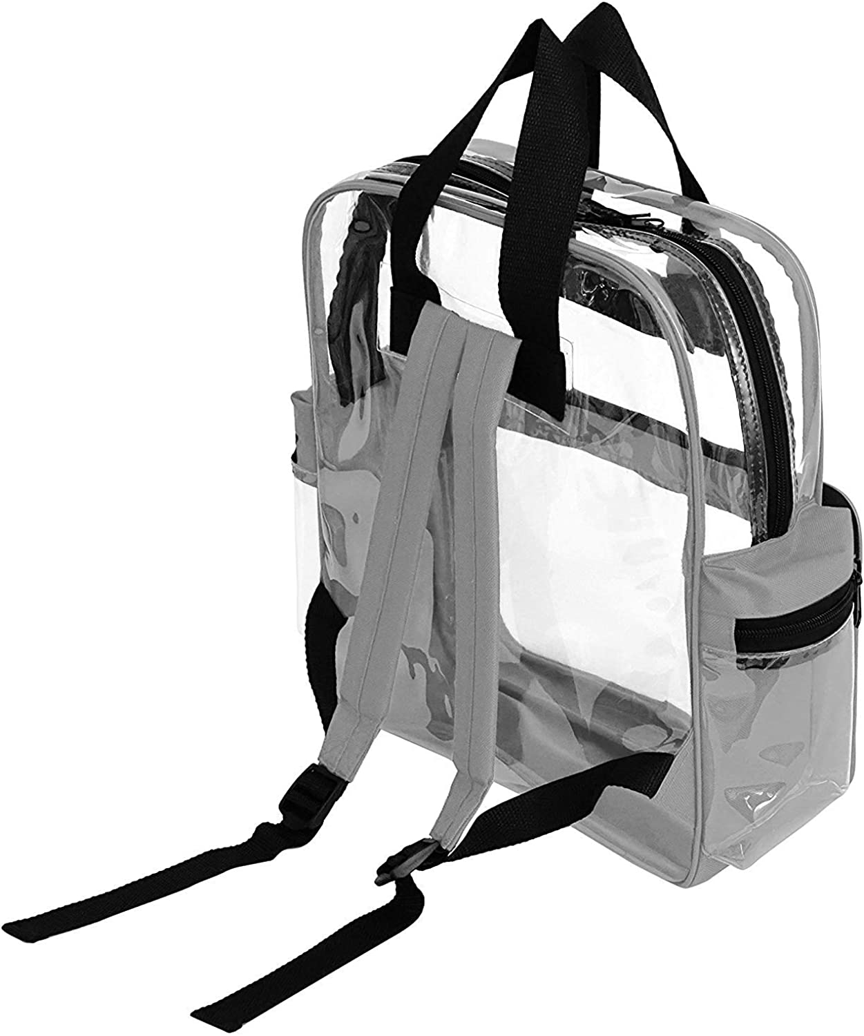 ProEquip Travel Bag Clear Unisex Transparent School Security Backpack