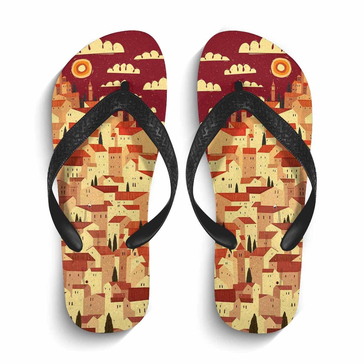 Chad Hope Womens Beach Flip Flops Summer Flip Flop Sandals /& Slippers,Comfortable Beach shoes