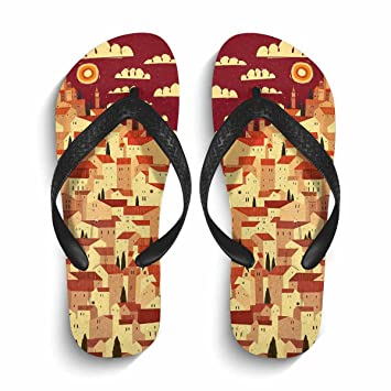 5c6cd3adfe7ae4 Image Unavailable. Image not available for. Color  Chad Hope Men s Beach  Flip Flops Summer Flip Flop Sandals   Slippers