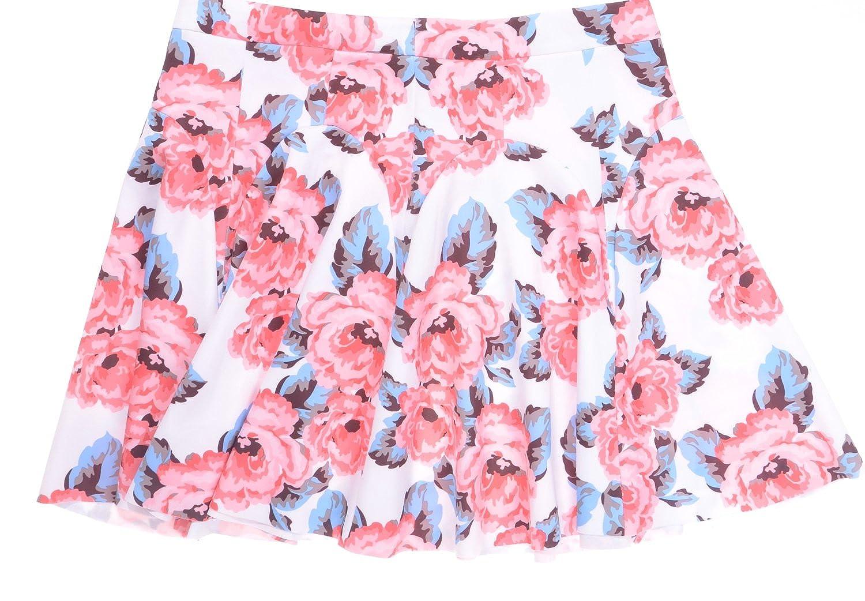 INC International Concepts Petite Floral-Print Skirt Size 12P
