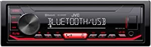 JVC KD-X260BT Digital Media Receiver Featuring Bluetooth/USB/Pandora/iHeartRadio/Spotify / 13-Band EQ