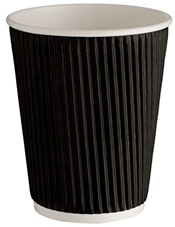 500 Stück BAMI Premium Kaffeebecher Einweg Tee Kaffee Cappuccino ...