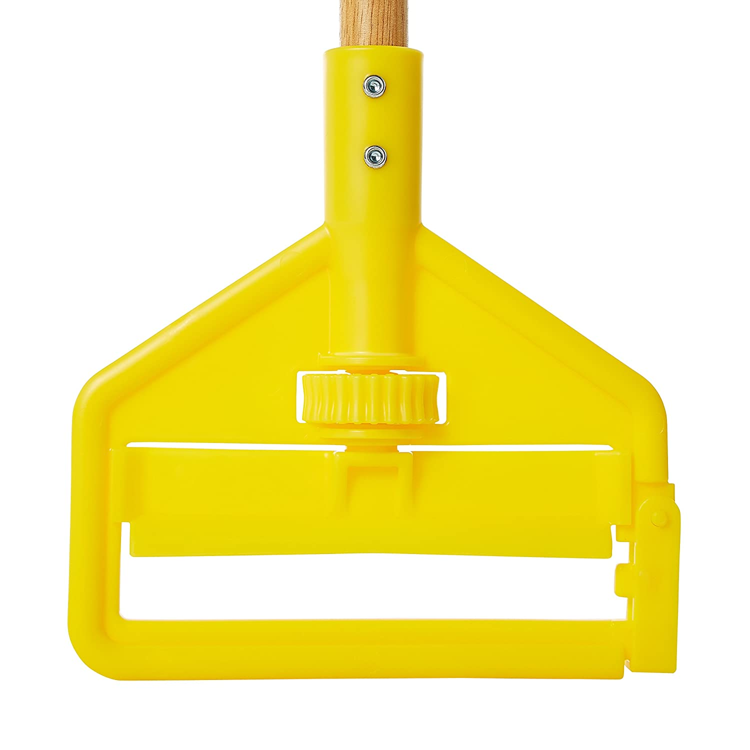 Rubbermaid Commercial H126 Invader Aluminum Side-Gate Wet-Mop Handle 60 Gray//Yellow