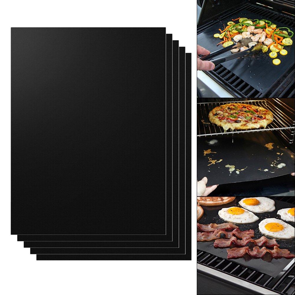 XCSOURCE® 5pcs Non-Stick BBQ Grill Mats Reutilizables PFOA Free Cooking Sheet Barbacoa forro de horno, fácil de limpiar (16 'x 13') HS910 fácil de limpiar (16 x 13) HS910