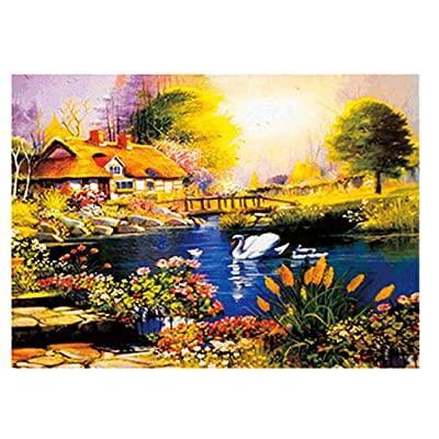 GONGting Jigsaw Puzzle 500 Piece,Landscape, for Adults and Kids (Style 2): Toys & Games