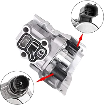 Part# 15810-RAA-A03 VTEC Solenoid Spool Valve Assembly with Oil Pressure Switch for Honda Accord Element CR-V 2.4L Honda Civic Acura RSX 2.0L 15810-RAA-A01