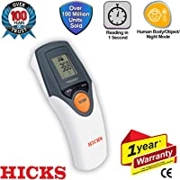 Hicks NT-19 Non Contact Infrared Thermometer (Gray/White)