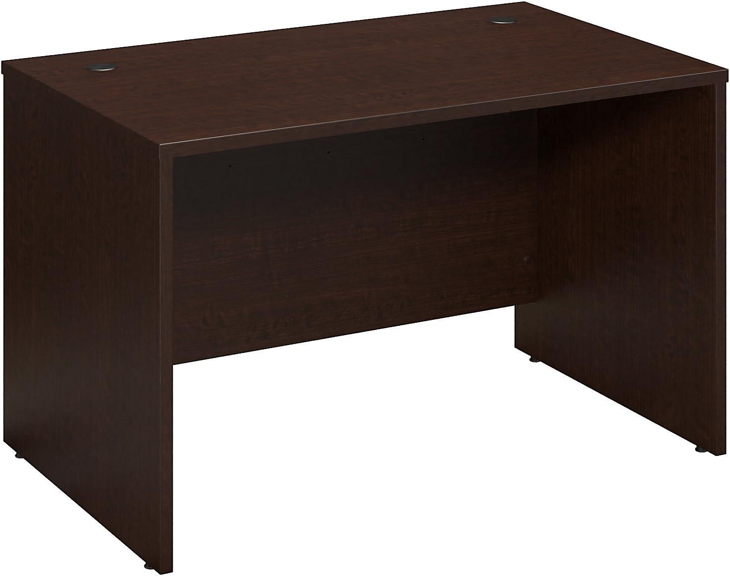 Bush Business Furniture Series C 48W x 30D Shell Desk in Mocha Cherry