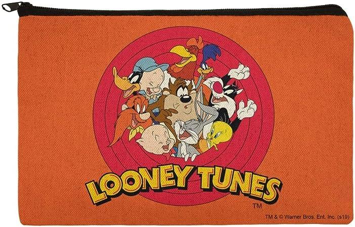 Looney Tunes Group - Estuche organizador con cremallera para lápices: Amazon.es: Oficina y papelería