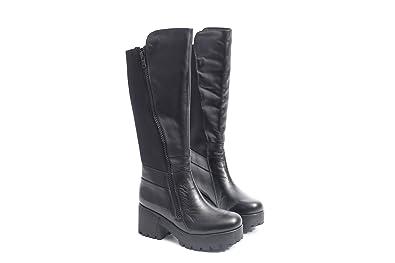 Pretty Nana Grace 600177 Nero Nude, Chaussures à brides femme - noir - noir, 38 EU