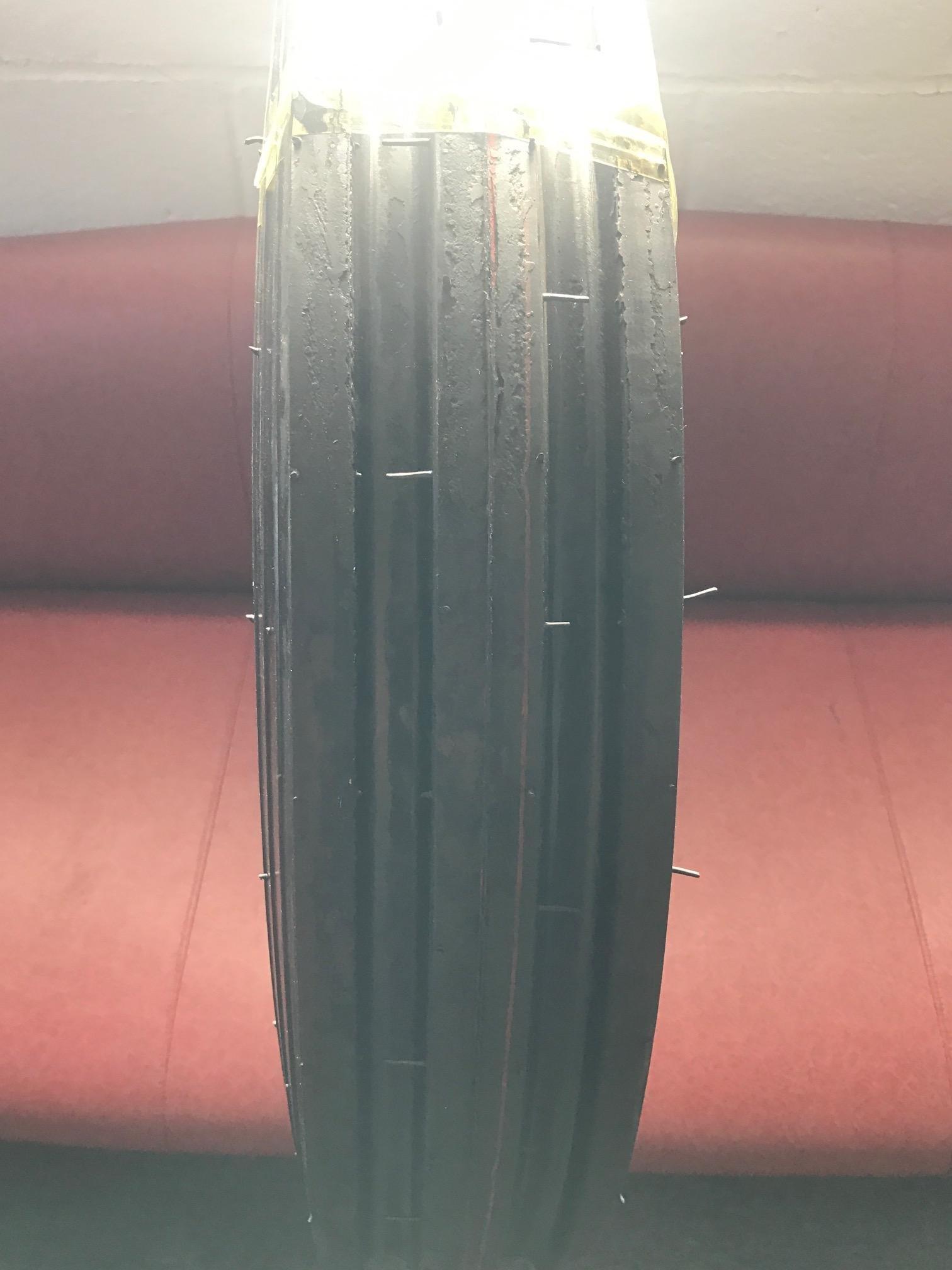 (2 TIRES NO TUBE ) 6.00-16 6PLY F2 3-Rib Farm Tractor Tires