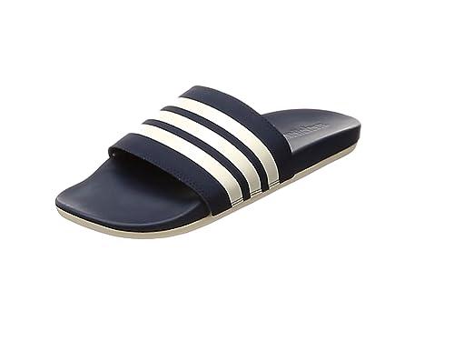 Cloudfoam Adidas Piscine De Adilette Plageamp; Homme StripesChaussures Plus yvgbYf76