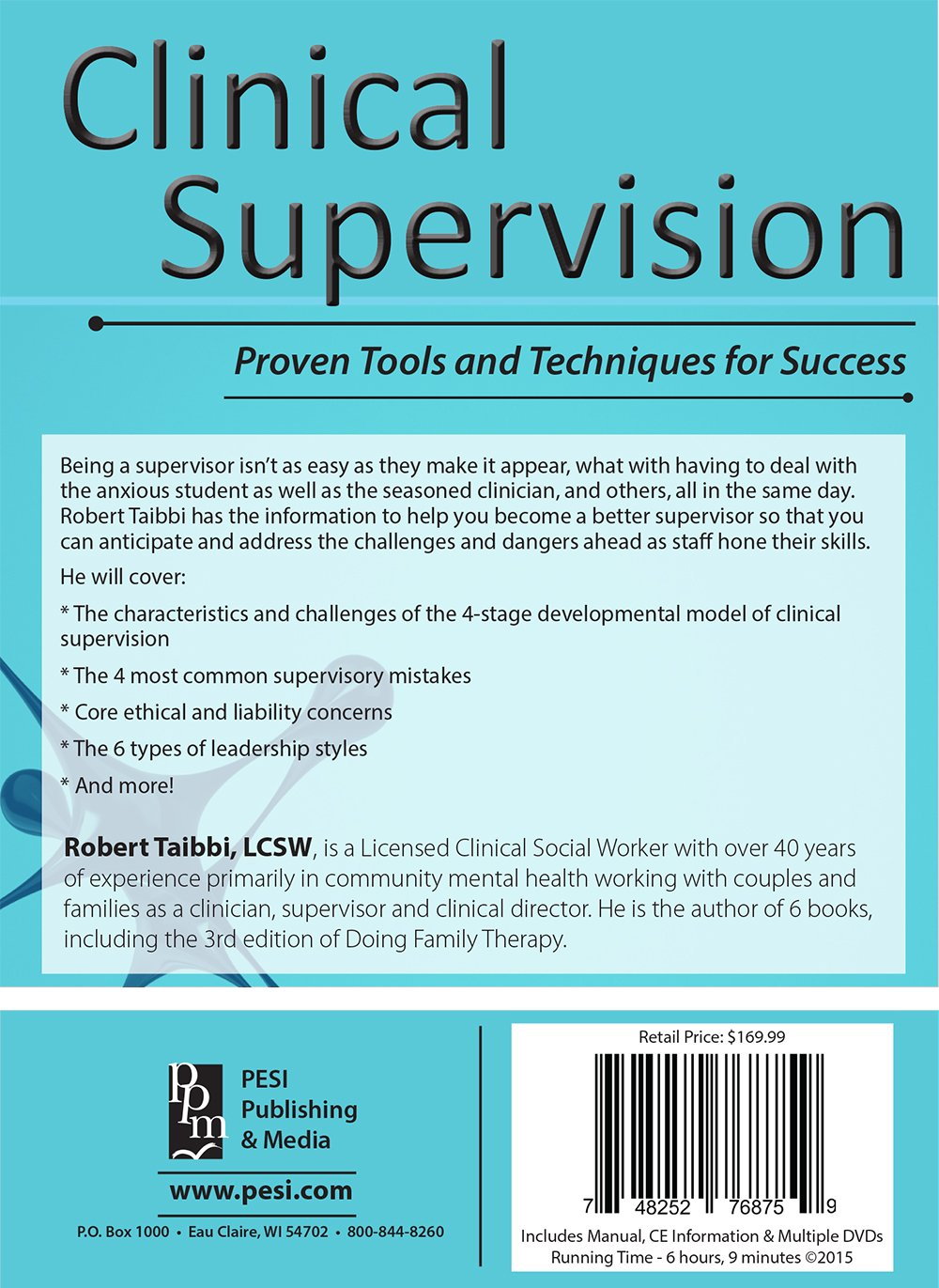 com clinical supervision proven tools and techniques for com clinical supervision proven tools and techniques for success bob taibbi pesi publishing media movies tv