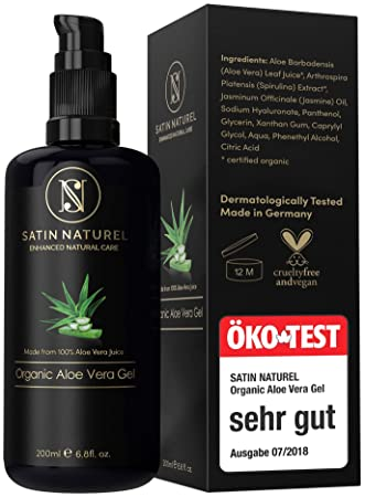 öko Test Sehr Gut Satinnaturel 975 Bio Aloe Vera Gel Vegan In