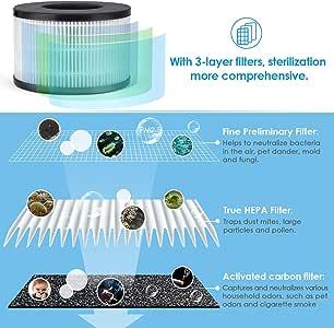 PARTU Filtros de purificador de Aire: Amazon.es: Hogar