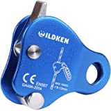 Climbing Ascender Fall Protection Belay Device Climbing Rope Grip Clamp for Rock Climbing Mountaineering Tree Arborist…