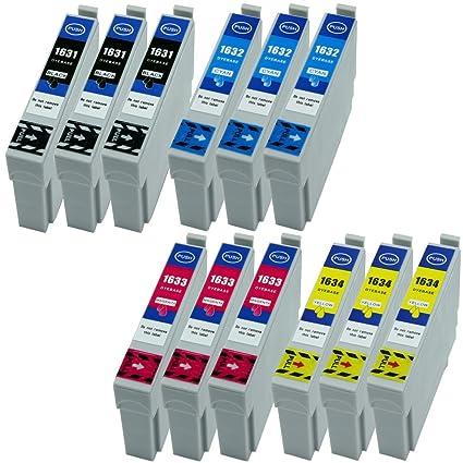 12 XL Cartuchos de Tinta Negro, Cian, Magenta, Yellow nuevo en ...