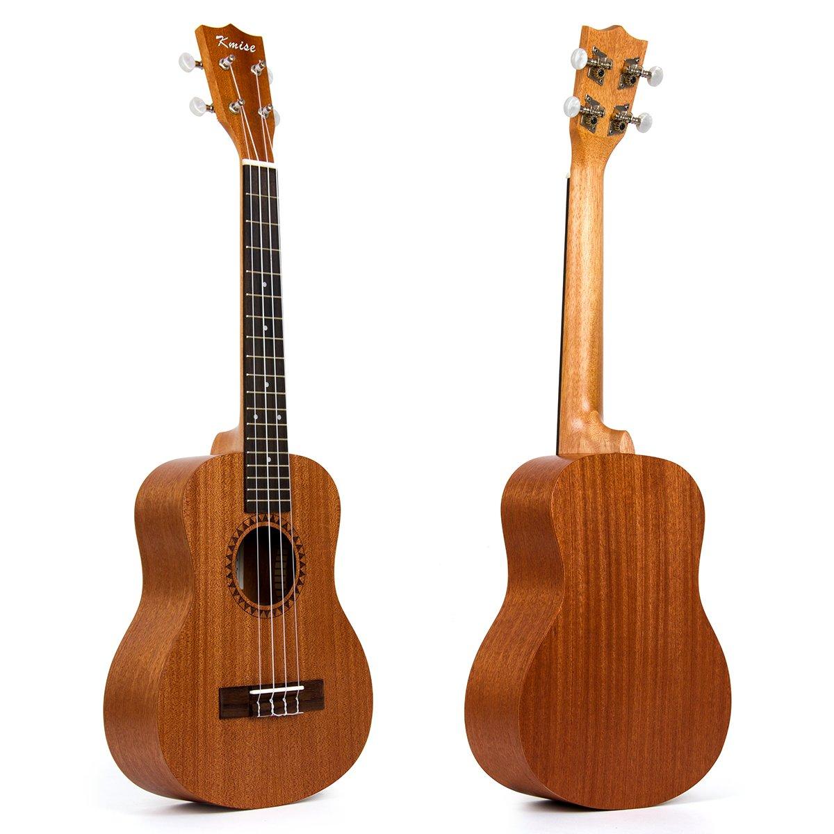Tenor Ukulele 26 inch Ukelele Hawaiian Guitar With Aquila Ukele Strings (Ukulele-A7) by Kmise