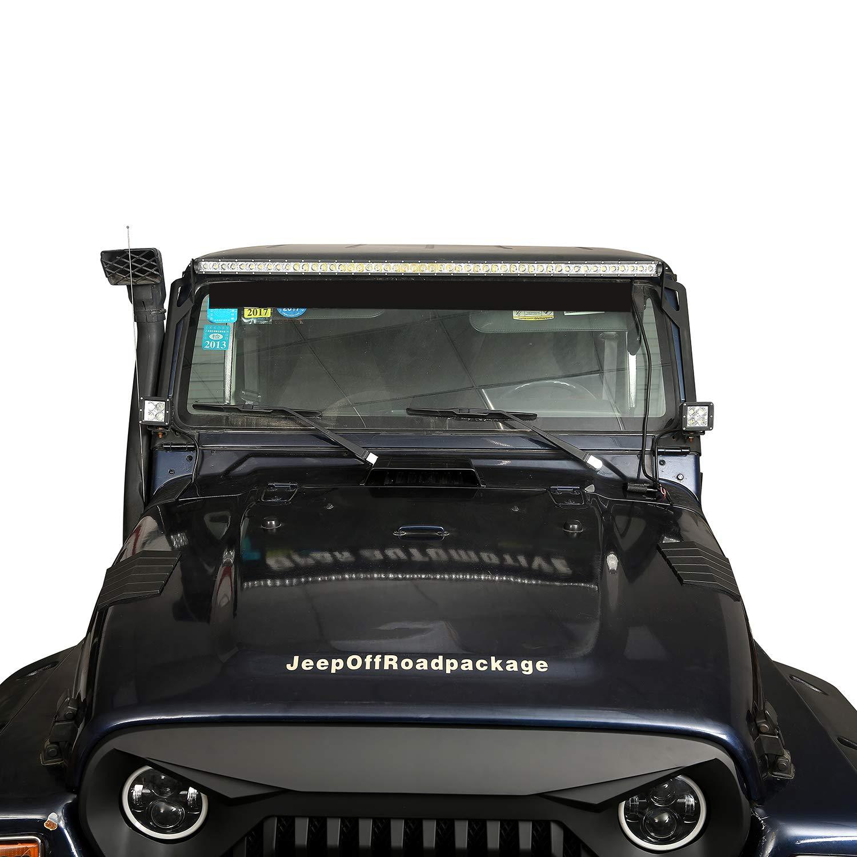 u-Box Jeep Wrangler TJ Cowl Body Armor Front Hood Corner Guard for Jeep Wrangler TJ 1997-2006