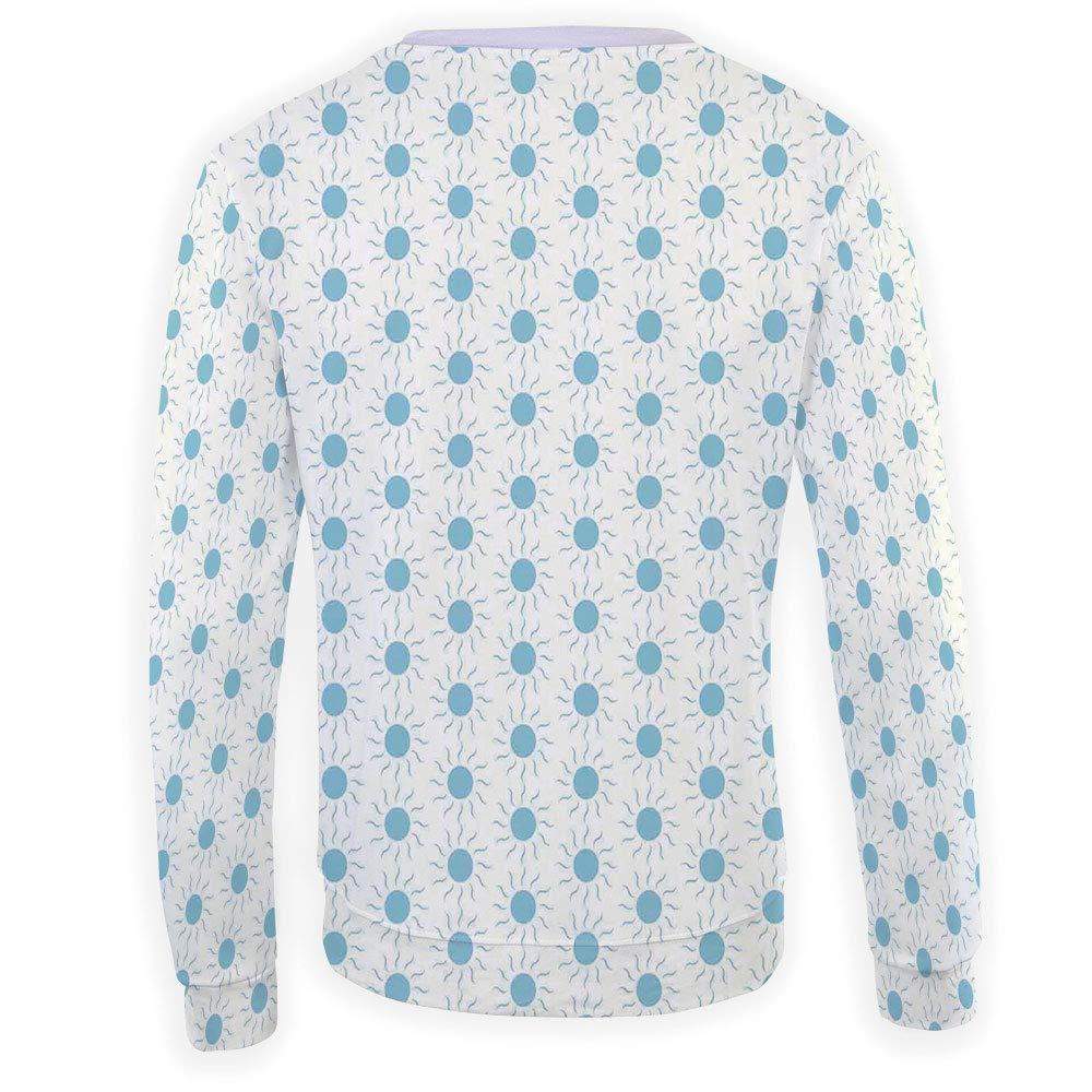 MOOCOM Unisex Animal Print Decor Sweatshirts Crewneck