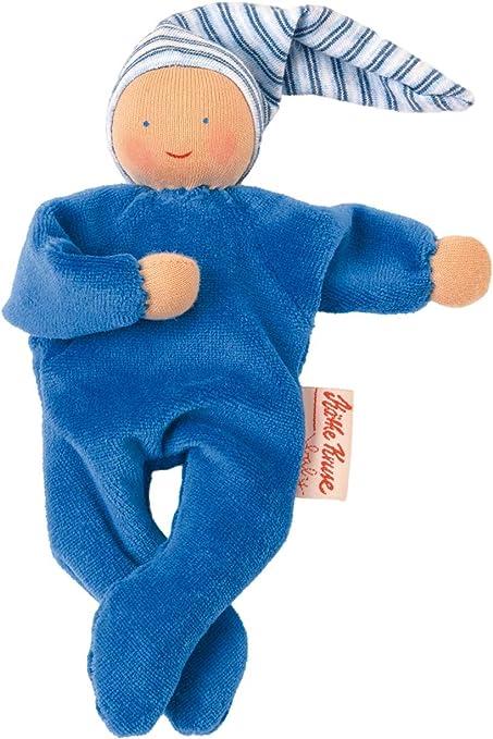 Käthe Kruse 7372073720 Organic Nicky Baby, color azul ...