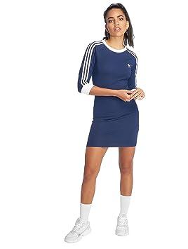 adidas 3 Stripes Dress Vestido de Tenis, Mujer: Amazon.es: Deportes y aire libre