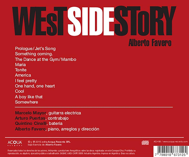 Marcelo Mayor, Arturo Puertas, Alberto Favero, Quintino Cinalli - Alberto Favero on West Side Story - Amazon.com Music