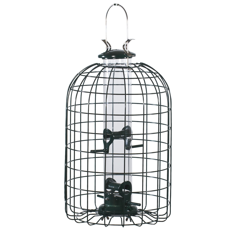 Audubon Squirrel Proof Caged Tube Type Bird Feeder Model NATUBE3 (Pack of 4)
