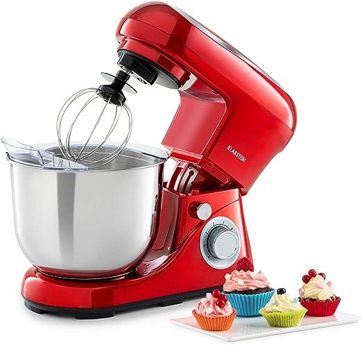 Klarstein Bella Pico 2G - Robot de cocina rojo: Amazon.es: Hogar