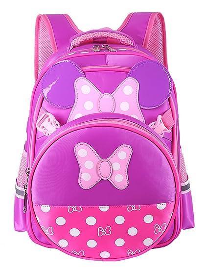ef11f480c2 Fifriver Waterproof Kids Backpack - Cute Toddler School Bag - Children  Durable Bookbag - Adorable Travel Back Pack for Boys and Girls (Purple)  ...