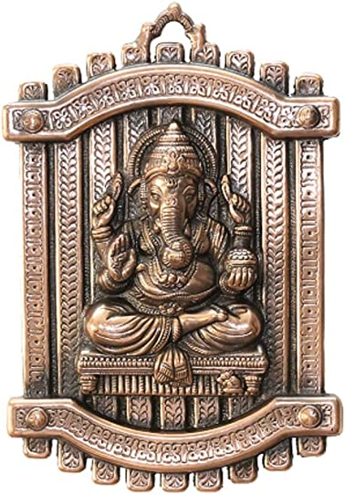 APKAMART Hand Crafted Lord Ganesh Wall Hanging