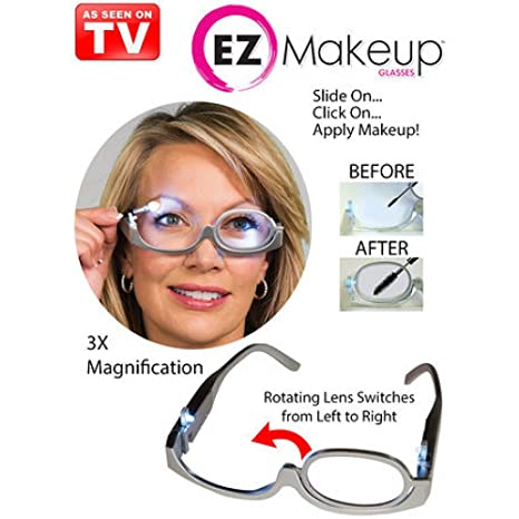756f61d538a Buy Cartshopper Women Makeup 3.0 x Magnifying Makeup Eye Glasses with Light  Online at Low Prices in India - Amazon.in