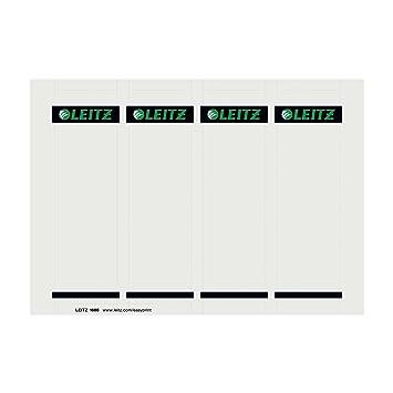 Leitz 16800085 EasyPrint - Etiquetas para lomos de archivadores Leitz 1010 (56 x 190 mm, 4 unidades de 25 hojas): Amazon.es: Oficina y papelería
