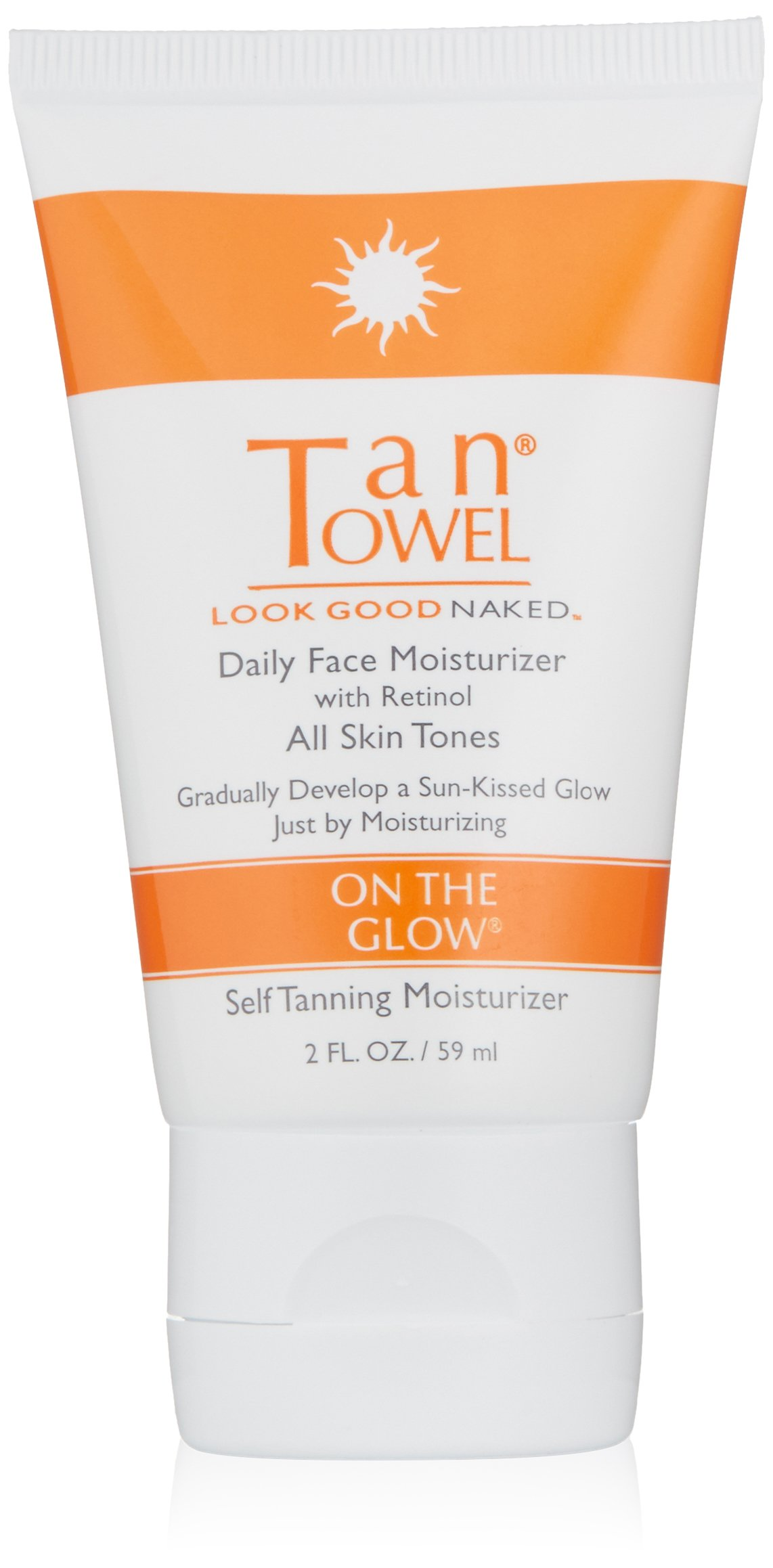 Amazon.com: TanTowel On The Glow - Daily Face Moisturizer with retinol - 2  oz: Luxury Beauty