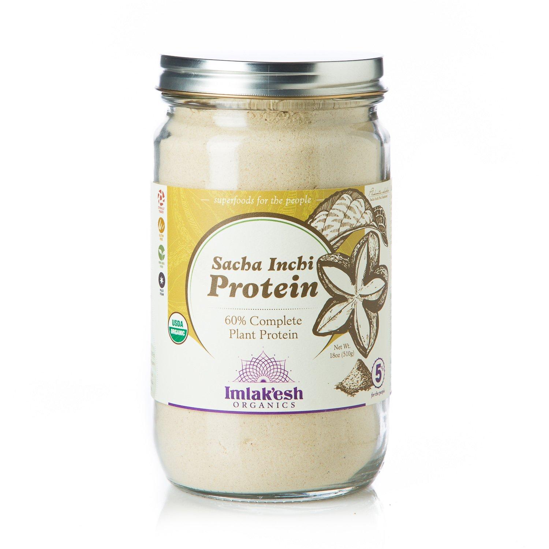 Imlak'esh Organics Sacha Inchi Protein Powder (14oz Jar) by IMLAKESH ORGANICS