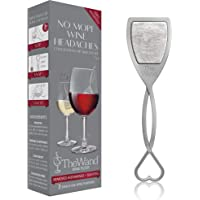 The Wand Wine Filter by PureWine | No More Wine Headaches | Removes Sulfites And Histamines | By-The-Glass (3-Pack)