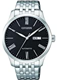 CITIZEN Mens Mechanical Watch, Analog Display and Stainless Steel Strap - NH8350-59E