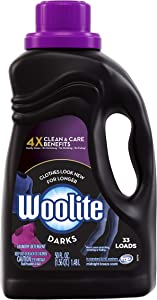 Woolite Dark Care Laundry Detergent, Midnight Breeze Scent, 50 oz/ 33 Loads *Packaging May Vary* (Pack of 2)