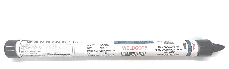 Weldcote Metals 4043 Aluminum Stick Electrode - 1/2# Package (3/32 ...