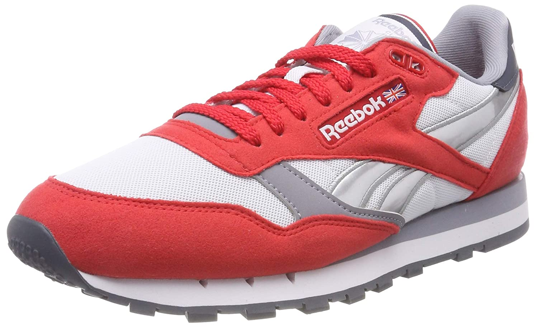 Reebok Men's RedWhiteShadowGraphite Running Shoes 9 UK