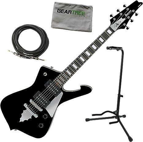 Ibanez psm10bk Paul Stanley firma Mikro guitarra eléctrica 22,2 En ...