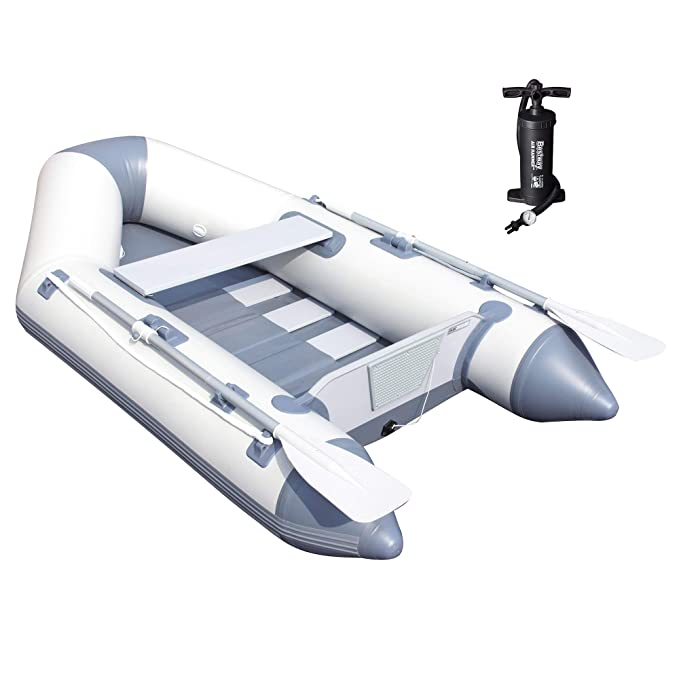Amazon.com: Bestway Hydro Force 91 Inch Caspian Pro Inflatable Boat Set with Oars and Pump: Sports & Outdoors