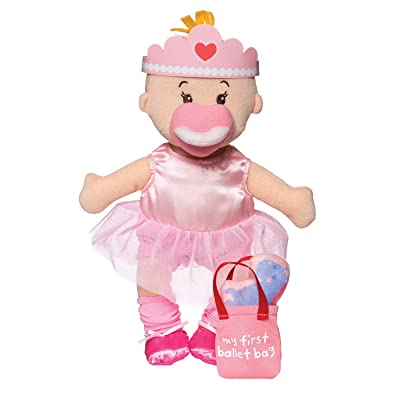 "Manhattan Toy Wee Baby Stella Tiny Ballerina 12"" Soft Baby Doll Set: Toys & Games"