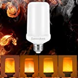 LED Flame Light Bulb, 2 Modes E26 E27 LED Flame Effect Lamp Fire Light for Fireplace Decoration Lighting Bulb on Christmas Halloween Holiday Party