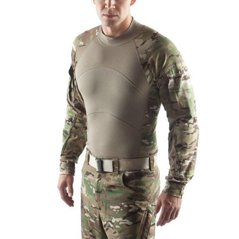 Massif USGI FR Combat Shirt (ACS) Flame Resistant Multicam Massif Mountain Gear