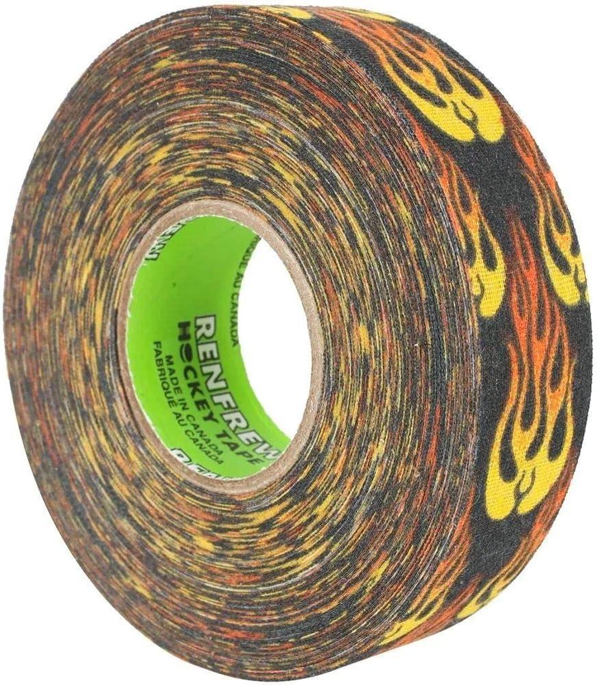 Eishockey Renfrew PRO Schl/ägertape 24mm x 25m Flame//Flammen Inlinehockey Tape Hockey