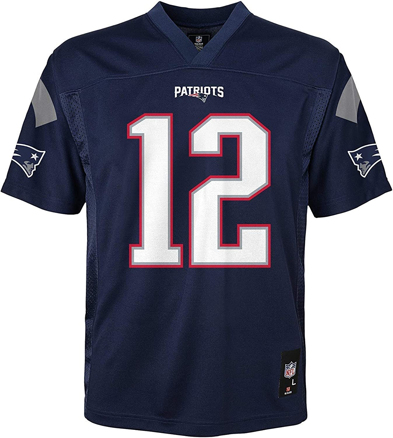 NFL New England Patriots Youth 13 14 Years Boys Kids Official Team Apparel