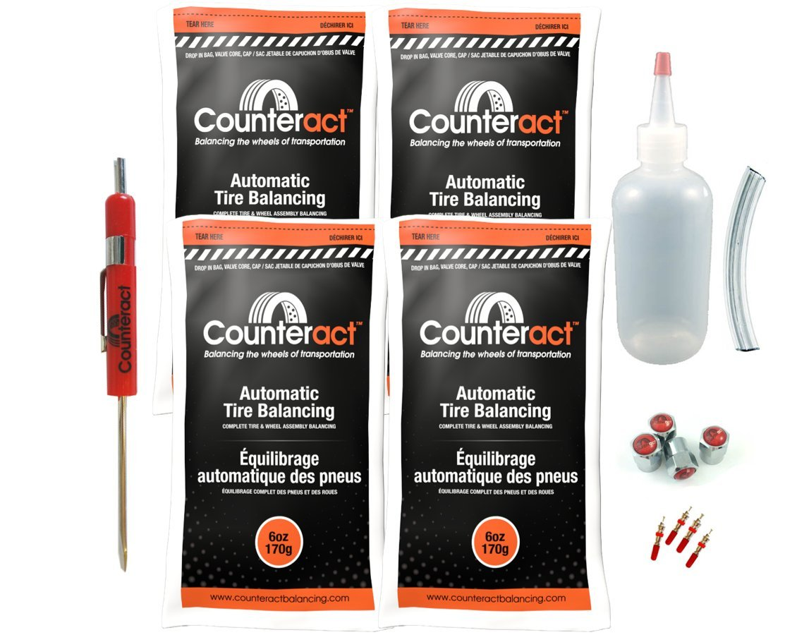 DIYK-6 Counteract Tire Balancing Beads Light Truck/Off-Road - 6oz DIY Kit (24oz) by Counteract
