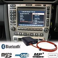 Bluetooth A2DP Manos Libres USB SD AUX Adaptador